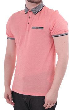 Ashland Ted baker ss polo with contrast tipping