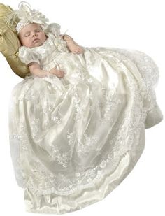 Preslee Silk Designer Beaded Christening Baptism Gowns for Girls, Made in USA, http://www.amazon.com/dp/B008GG24L8/ref=cm_sw_r_pi_awd_Yzxxsb1PFM6NM