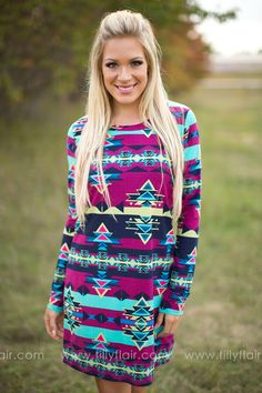 327f7a4e49f Good Times Roll Printed Dress Good Times Roll, Filly Flair, Cute Boutiques,  Dream