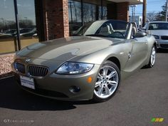 bmw olivine colors | 2005 BMW Z4 3.0i Roadster - Olivine Green Metallic Color / Dark Beige ...