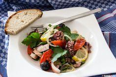 Salad wih Octopus & Kalmar