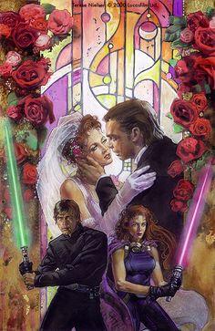 Star Wars: Union Artwork by TereseNielsen (original designer of this art for Lucas films & Dark Horse comics)
