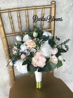 Blush Wedding bouquet Bridal bouquetBlush wedding