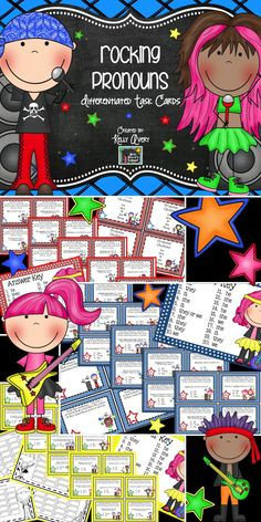 Teaching Pronouns? These differentiated pronoun task cards are a perfect grammar resource to incorporate into your ELA lesson plans! These task cards can be used in a variety of ways including whole group or small group activities, not to mention, they are so much more engaging than boring worksheets! Click here to see what other teachers have to say about these fun pronoun task cards and activities!