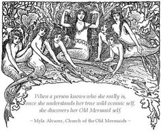 Quote from The Old Mermaid's Journal which Junie moon added to a graphic