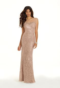 Sequin Lace Dress with Cut Out Back