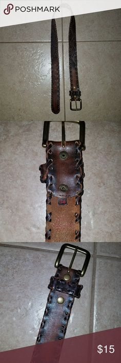 Lucky Brand Brown Leather Belt Beautiful condition genuine leather size 34 men's belt, Lucky Brand. Lucky Brand Accessories Belts