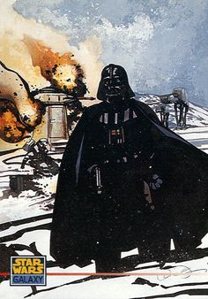 Star Wars Galaxy Trading Card, Darth Vader