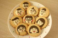 Chibi Maruko Chan cookie copyright (c) Colacat