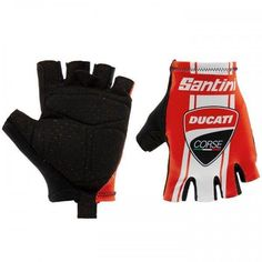 2019 Santini De Rosa Team Cycling Glove Made in Italy