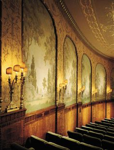 chamber music hall detail