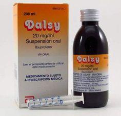 nom: dalsy p.a: ibuprofeno indicacions: dolor i febre
