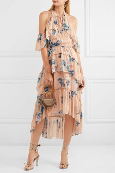 Ulla Johnson | Valentine ruffled floral-print silk-georgette dress | NET-A-PORTER.COM