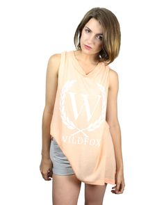 Wildfox Wildfox Laurel Muscle Tee - Available at Birdmotel Online Store