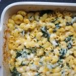 Kveller RECIPE: Pumpkin Swiss Chard Mac and Cheese 1 box pasta of your choice (elbow macaroni, cavatappi, or shells would be ideal) 1 large bunch swiss chard (can also substitute spinach, kale, or broccoli) 2 Tbsp unsalted butter 2 Tbsp flour ¾ cup milk 1 cup canned or fresh pumpkin puree (can also substitute butternut squash or sweet potato puree) ½ cup Greek yogurt ½ cup reserved pasta cooking water ¼ tsp fresh nutmeg 1 cup shredded gruyere 1 cup shrded cheddar
