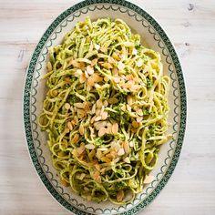 Get the recipe for Linguine Al Pesto Di Zucchine from Food & Wine.