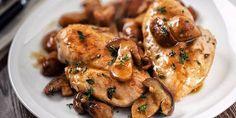 Slimming world Chicken & mushrooms