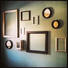 Empty frames are the new trend!
