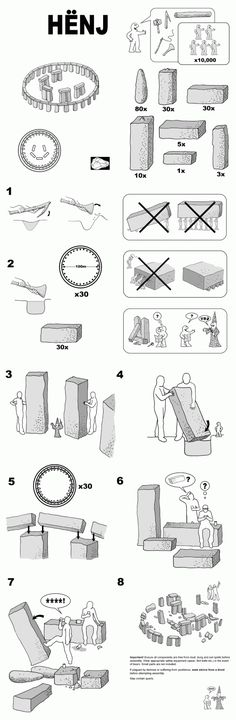 Ikea Stonehenge or Ancient Learning Styles