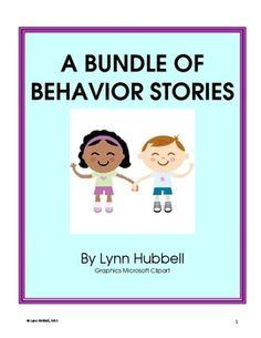"""A Bundle of Behavior Stories"" is a collection of five social narratives which introduce and explain different social/behavior skills. The bundle includes: ""I Am a Learner,"" "" I Can Follow Directions,"" ""I Can Keep My Body Calm,"" "" I Can Stop and Think"" and ""I Can Use My Classroom Voice."" Each story includes a teacher guide, anchor chart and multiple worksheets to reinforce the skills taught. $"
