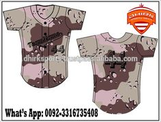 customized sublimated Baseball Jerseys