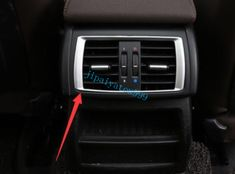 Fit For BMW X3 F25 X4 F26 2011-2017 ABS Interior Rear Air Vent Outlet cover trim