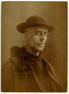 Jan Verkade in 1912 when he had become Father Willibrord