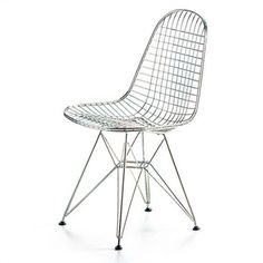 VITRA-sedia-sedie-Wire-Chair-DKX-Charles-Ray-Eames- | Charles e Ray ...