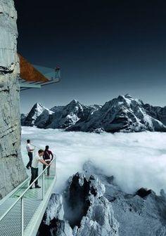 Thrill Walk Schilthorn, Switzerland