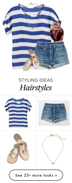 """""""anybody else miss summer?"""" by gourney on Polyvore featuring Jack Rogers and Kate Spade"""