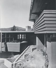 A. Quincy Jones. Nordlinger House #1, Los Angeles, 1946–48.