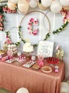 Floral baby shower Baby Shower Party Ideas - for kids ? Floral baby shower Baby Shower Party Ideas - for kids ? Baby Shower Floral, Deco Baby Shower, Baby Shower Flowers, Shower Party, Baby Shower Parties, Girl Baby Showers, Baby Shower Banners, Baby Shower Wall Decor, Classy Baby Shower
