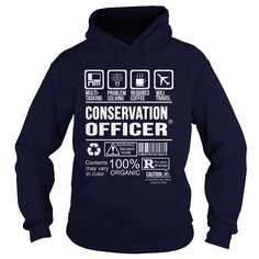 CONSERVATION-OFFICER - #comfy hoodie #tumblr sweater. LIMITED TIME PRICE => https://www.sunfrog.com/LifeStyle/CONSERVATION-OFFICER-Navy-Blue-Hoodie.html?68278
