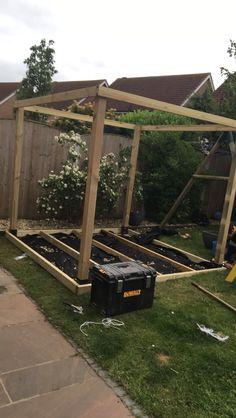 Pergola For Small Backyard Hot Tub Patio, Hot Tub Gazebo, Hot Tub Garden, Backyard Gazebo, Pergola Canopy, Backyard Garden Design, Fire Pit Backyard, Pergola Patio, Pergola Plans