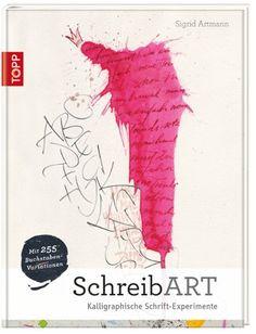 SchreibART: Kalligraphische Schrift-Experimente von Sigrid Artmann http://www.amazon.de/dp/3772462960/ref=cm_sw_r_pi_dp_dE0Wub17D9ZZJ
