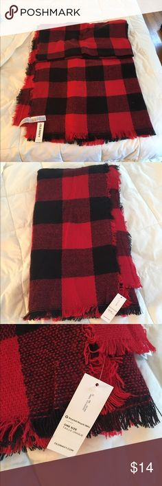 Old Navy flannel blanket scarf So soft! Brand new with tags. It is a little too large for my taste and I missed the return period.  Currently listed for $19 on old navy website. Old Navy Accessories Scarves & Wraps