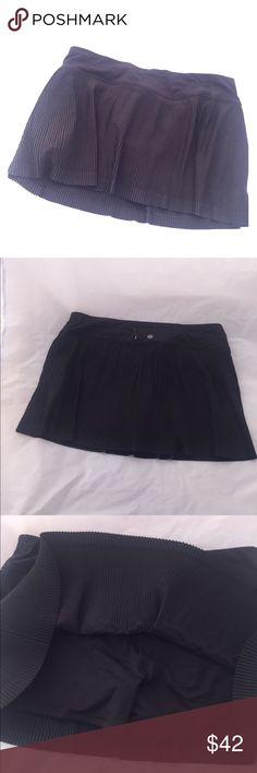 Lululemon fitness skirt Activewear skirt with built in shorts. Perfect condition never worn. lululemon athletica Skirts