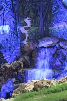 Tamanna S: #nightscape #waterfall