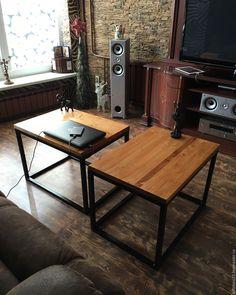 Купить Журнальный стол ASPECT - комбинированный, стол, столик, жкрнальный столик, Мебель, лофт, loft