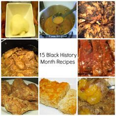 """15 Black History Month Recipes  (African, Caribbean and traditional """"soul food"""" recipes)"""