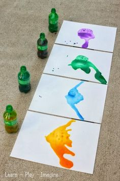 Directions:  When making geysers with Mentos and soda you want to use a two liter bottle of soda.  I wasn't aiming for geysers but rather sm...