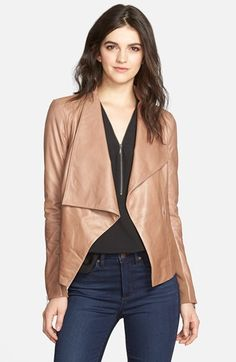The Classy Woman || Leather Jacket from my Nordstrom Anniversary Sale favorites. Direct item link on the blog. #nsale