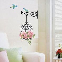 Delicate New Fashion Wall Decal Sticker Home Decor Vinyl Removeable Mural Sticker Hot Selling