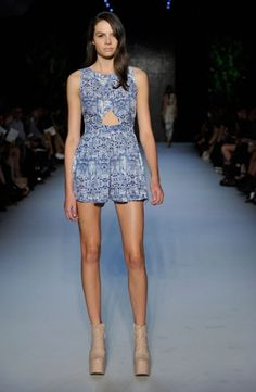 Mercedes-Benz Fashion Week Australia : ALICE MCCALL 2011