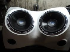 Build a Fiberglass Subwoofer, Start to Finish : 8 Steps (with Pictures) - Instructables Truck Subwoofer Box, Custom Subwoofer Box, Fiberglass Resin, Sub Box, Alfa Romeo Cars, Bmw Series, Ford Gt, Transportation Design, Glass