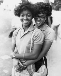 LOVE! Vintage Black lesbian love circa 1980's - this is so beautiful. I want…