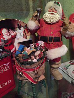 Possible Dreams Coca Cola Santa Claus depicting original Sundblom ad