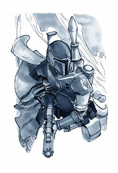 Boba Fett  by Eric Canete