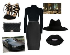 """""""Untitled #11"""" by kaleajeter on Polyvore featuring Roland Mouret, Chanel and Yves Saint Laurent"""