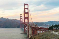 Goldengate bridge San Fransisco - roadtrip California